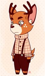 Animal Crossing AU: Waltham by Mudcat336