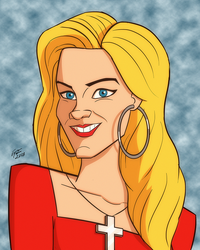 Married with Children: Kelly Bundy by jonathanserrot