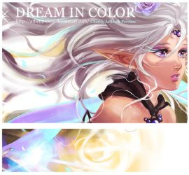 Dream in Color Artbook Preview by Athena-chan