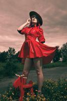 Mountie pin up by AgatkaAltModel