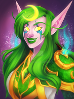 Blizzcon Badge: Verdandy