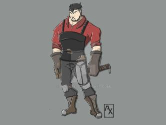 Blacksmith_dnd character by AshinoX1