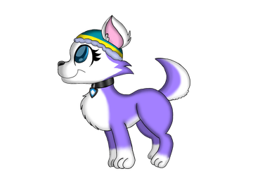 Everest [Paw Patrol]  by Laila-Loveheart