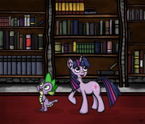 Books, books, and more books. by LAD210
