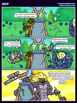 Hots comic - MVP by Memoski