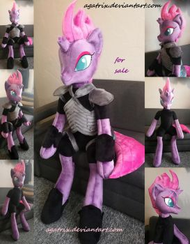 Life size(sitting/laying down)Tempest Shadow plush by agatrix