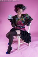 Mad Hatter Tea Party.1 by Della-Stock