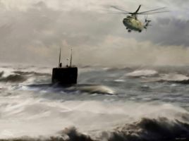 Rescue in the Barents Sea by zulumike