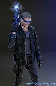 Captain Cold by Ammotu