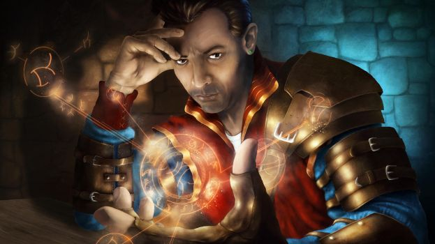 Red Wizard of Thay -  Learning new spell by Winterkeep