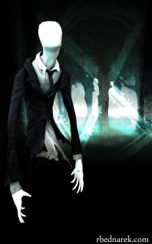 Slenderman - Beauty 2 by Pratikah