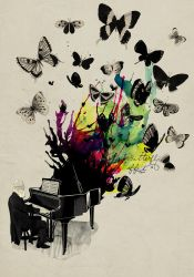 Butterfly effect by mathiole