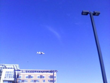 Space Shuttle Endeavor (Retired) Fly-Over by JRigh