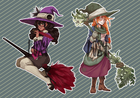 Witchsona Adoptables set 1 [CLOSED] by 1-084