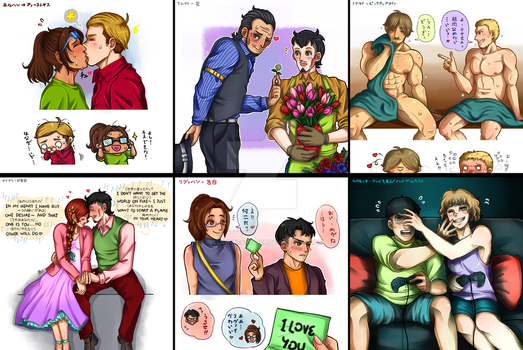 30 Day Challenge + Favourite SnK Pair (Day 1-6) by fellow-traveller