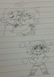 Doodle Page | Study Hall ft. the Boy by BlackberryBits