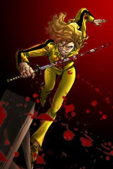Beatrix kiddo  -  Kill Bill by Elforim