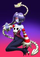 Squigly and leviathan by WALKINGDEADMANN