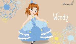 No-Disney Princess Young ~ Wendy by miss-lollyx-33