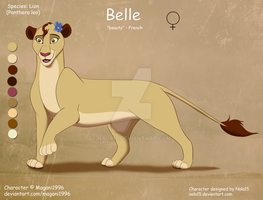 Belle - OC Design Commission by Nala15
