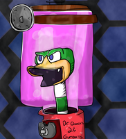 Infamous Doctor Quack by toontownloony