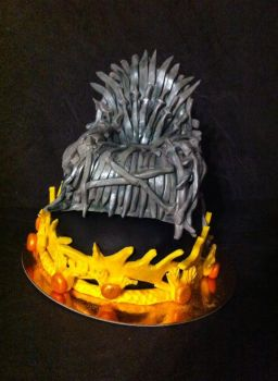 Game of Thrones Cake by Khallyn