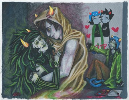 Disciple - Nepeta's Dream by drhicks76