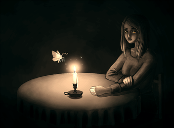 Candle by CuteReaper