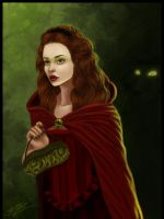 Little Red Riding Hood by Laurine-Tellier