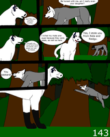 Wolf tracks page 143 by alicesapphriehail