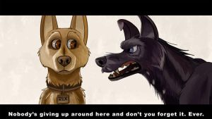 Isle Of Dogs by shadythebluewolf