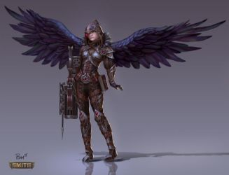 Jing Wei Witch Hunter by PTimm
