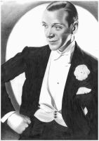 Fred Astaire by donchild