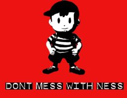 Don't mess with ness by onizuka1432