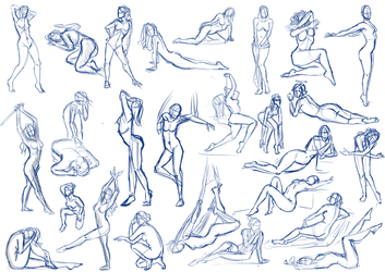 Female Pose Practice by SajoPhoe