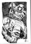 Army of Two by corrandark