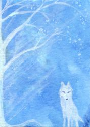 ACEO - Willow Wolf by keysan