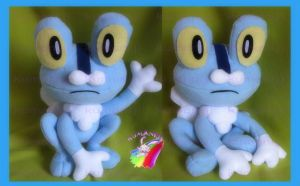 FROAKIE POKEMON X Y PLUSH