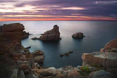 At the end of the way by Philippe-Albanel