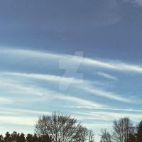 Stripes in the Sky by PinkWoods