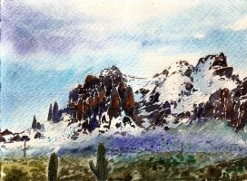 SuperstitionMountains by CheshFire
