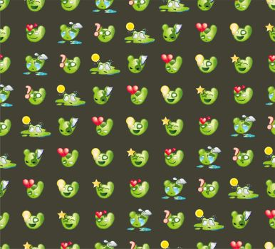 cactus emotion pattern by mermer