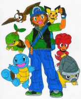 Mats and his Pokemon