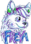 Commission Freya Badge by Contugeo