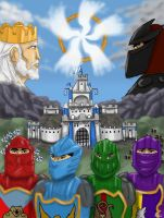 Lego Knights Kingdom for SonicClone by Lantis-Erin