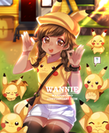 PIKACHU VALLEY by wanpuccino