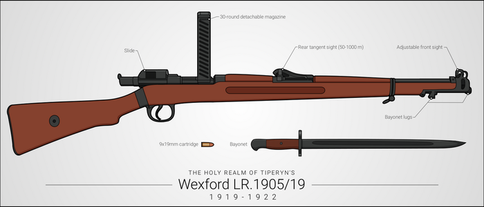 Wexford LR.1905/19 Carbine by graphicamilitare