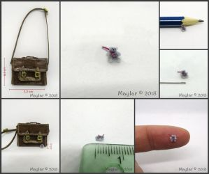 Bear in the Bag - 3 mm or 0.11 inch Micro Bear by Maylar