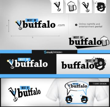 Buffalo logo design by sm0kiii