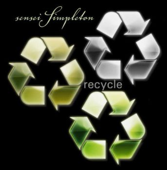 Recycle Icons by SenseiSimpleton